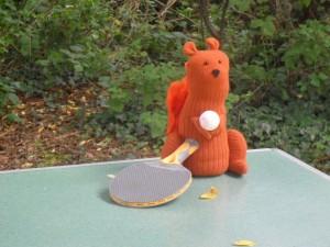 Lieblingsort: Tischtennisplatte